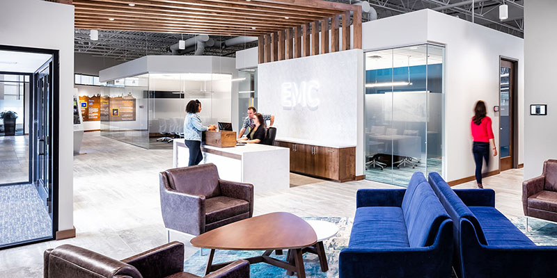 Sever Construction Completes the New Energy Management Collaborative (EMC) Headquarters Three Weeks Ahead of Schedule