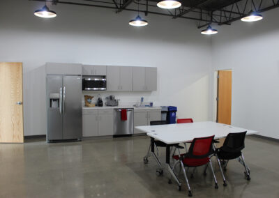 Asyril breakroom area located at Edina Commerce Center