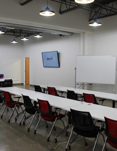 Asyril training space located at Edina Commerce Center