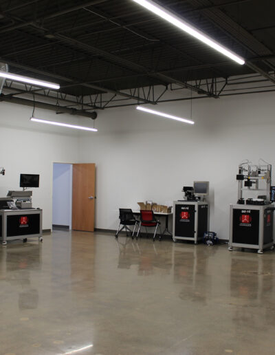 Asyril testing area located at Edina Commerce Center