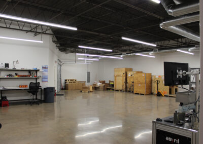 Asyril distribution area located at Edina Commerce Center