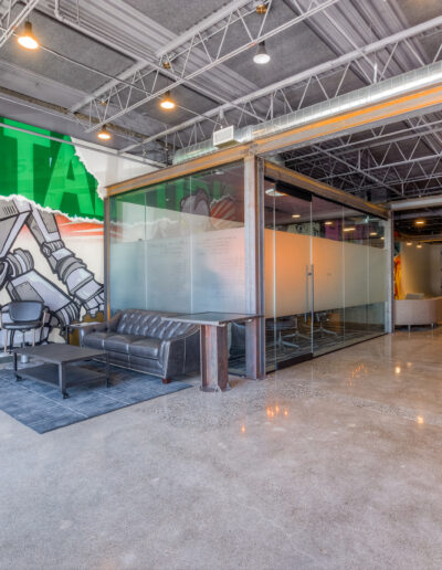 Bionic Giant lobby at Edina Commerce Center