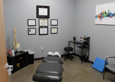 Dauntless + Integrated Chiropractic Rehab Clinic room at Edina Commerce Center