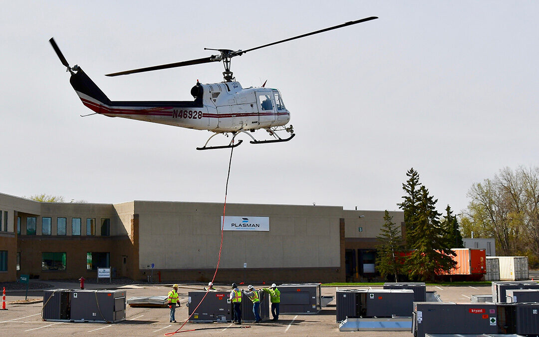 Thermotech Replaces 20 RTUs via Helicopter Operation