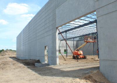 New Production Facility Construction