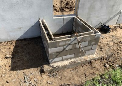 Stoop Foundation Installation at New Production Facility