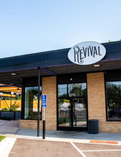 Revival Restaurant located at Texa Tonka Shopping Center in Saint Louis Park, MN