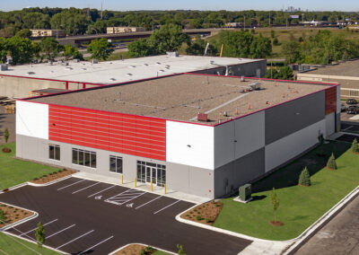 Ground-Up Industrial: New Production Facility